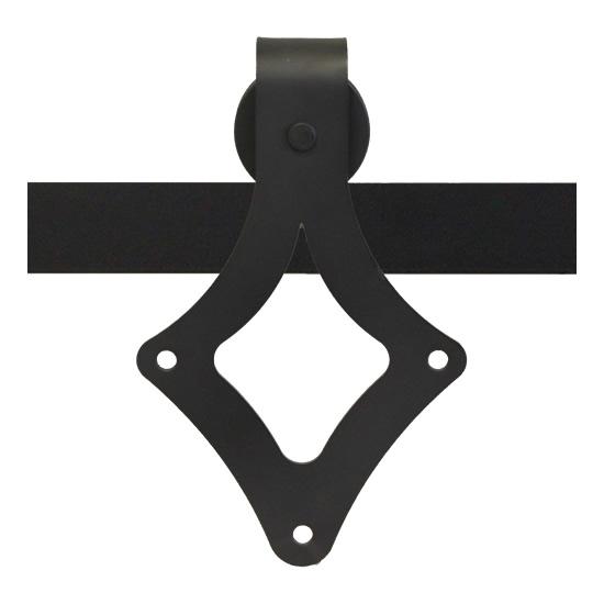 Leatherneck 411 teardrop style barn door track hanger for Track hanger