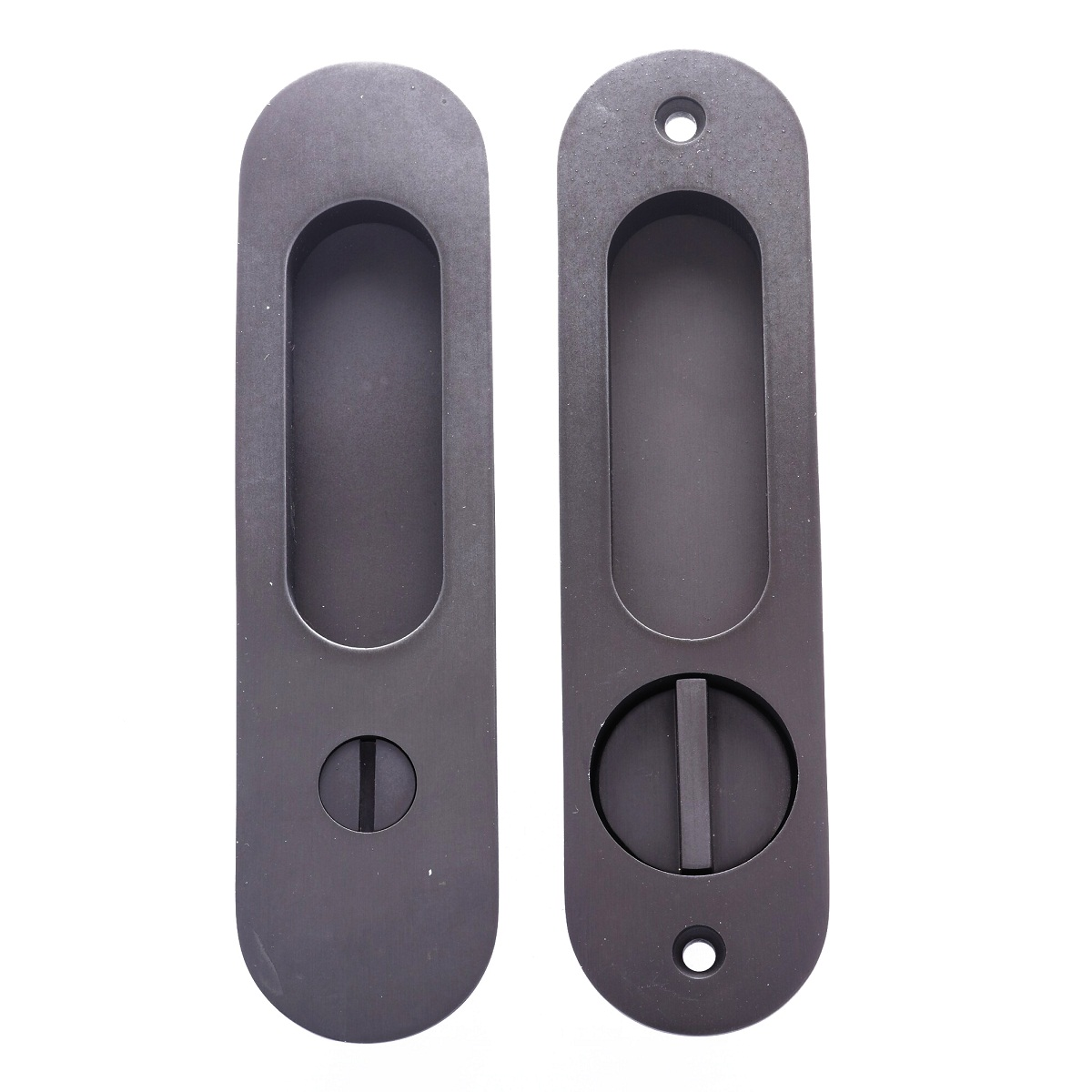 Round Pocket Door Hardware linnea pl-160r round privacy pocket door lock