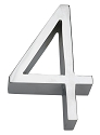 Linnea 5 Inch House Number - 4