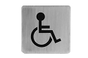 Linnea Handicapped Square Door Sign SGN-4