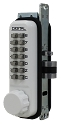 Lockey Style 2930 Keyless Latch - Narrow Stile