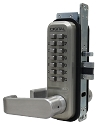 Lockey Style 2985 Double Combination Keyless Lever Latch - Narrow Stile