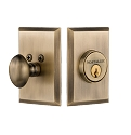 Nostalgic Warehouse New York Single Cylinder Deadbolt