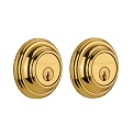 Nostalgic Warehouse Classic Double Cylinder Deadbolt