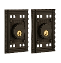 Nostalgic Warehouse Craftsman Double Cylinder Deadbolt