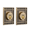 Nostalgic Warehouse Mission Double Cylinder Deadbolt