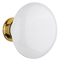 Nostalgic Warehouse White Porcelain Knobs ONLY with Spindle