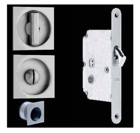 Omnia Pocket Door Mortise Lock 3911