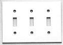 Omnia Modern Triple Switch Plate