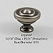 Residential Essentials 10241 Cabinet Knob in Aged Pewter