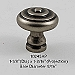 Residential Essentials 10245 Cabinet Knob in Aged Pewter