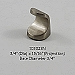 Residential Essentials 10302 Cabinet Knob in Satin Nickel