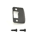 Schlage Full Lip Rounded Corner Strike Plate