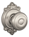 Schlage Georgian Knob with Brookshire Rosette