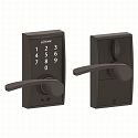 Schlage FE695 Century with Merano Lever Keyless Touch Entry Auto-Lock