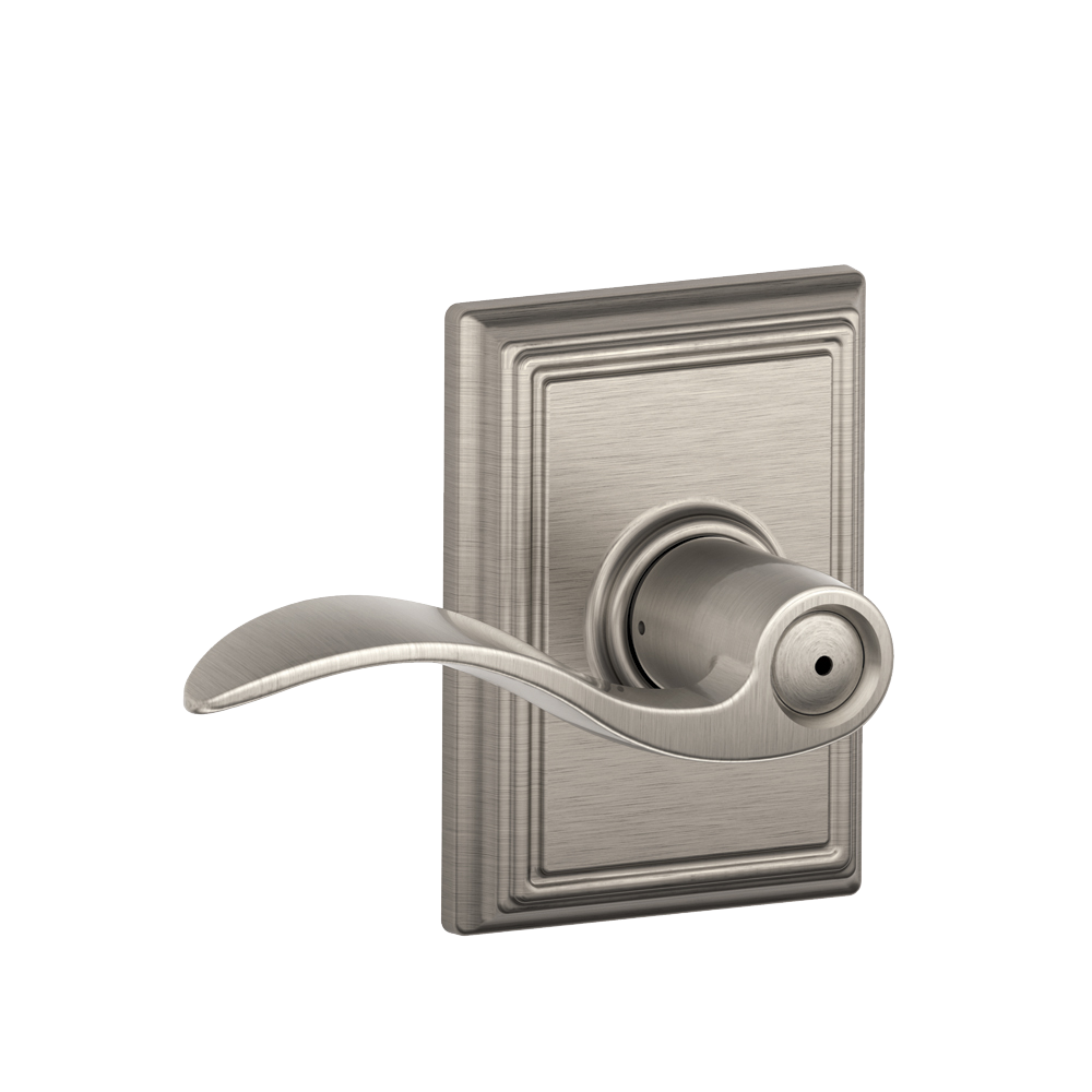 Schlage Passage Accent Lever With Addison Rosette