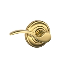 Schlage St. Annes Lever Handle with Andover Rosette