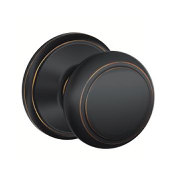 schalge aged door htm bronze knobs knob schlage andover hardware