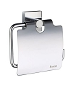 Smedbo House Collection Toilet Roll Holder with Lid - Polished Chrome