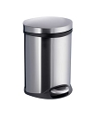 Smedbo Outline Collection Pedal Bin - Brushed Stainless Steel