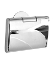 Smedbo Time Collection Toilet Roll Holder with Lid - Polished Chrome