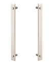 Sure-Loc Modern Double Handle - Satin Nickel