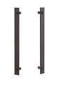 Sure-Loc Modern Double Handle - Flat Black