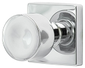 Sure-Loc Bergen Modern Style Door Knob with Square Rosette
