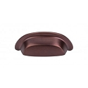 Top Knobs Aspen Collection 3 Inch CC Cup Pull - Mahogany Bronze