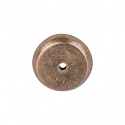Top Knobs Aspen 1 1/4 Inch Round Backplate - Light Bronze