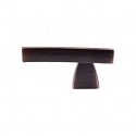 Top Knobs Sanctuary I Arched Knob/Pull 2 1/2 Inch - Tuscan Bronze
