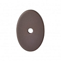 Top Knobs Sanctuary I Oval Backplate Medium 1 1/2 Inch - Oil Rubbed Bronze