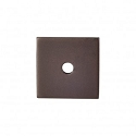 Top Knobs Sanctuary I Square Backplate 1 Inch - Oil Rubbed Bronze