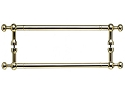 Top Knobs 12 Inch Somerset Weston Back to Back Door Pull - Polished Brass