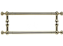 Top Knobs 18 Inch Somerset Weston Back to Back Door Pull - Polished Brass