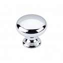 Top Knobs Somerset 1 1/4 Inch  Cabinet Knob - Polished Chrome