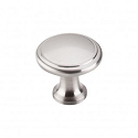 Top Knobs Nouveau 1 1/8 Inch Cabinet Knob - Brushed Satin Nickel