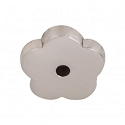 Top Knobs M2005 Aspen II Flower Backplate 1 Inch-Brushed Satin Nickel