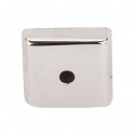 Top Knobs M2019 Aspen II Square Backplate 7/8 Inch-Polished Nickel