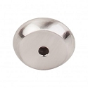 Top Knobs M2023 Aspen II Round Backplate 7/8 Inch-Brushed Satin Nickel