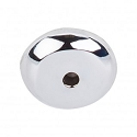 Top Knobs M2024 Aspen II Round Backplate 7/8 Inch-Polished Chrome