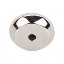 Top Knobs M2025 Aspen II Round Backplate 7/8 Inch-Polished Nickel