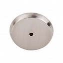 Top Knobs M2029 Aspen II Round Backplate 1 3/4 Inch-Brushed Satin Nickel