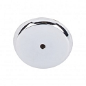 Top Knobs M2030 Aspen II Round Backplate 1 3/4 Inch-Polished Chrome
