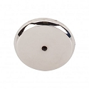 Top Knobs M2031 Aspen II Round Backplate 1 3/4 Inch-Polished Nickel