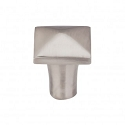 Top Knobs M2056 Aspen II Square Knob 7/8 Inch-Brushed Satin Nickel