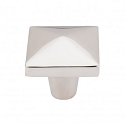 Top Knobs M2064 Aspen II Square Knob 1 1/2 Inch- Polished Nickel