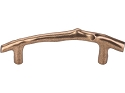 Top Knobs Aspen Twig 3 1/2 Inch CC Cabinet Pull - Light Bronze