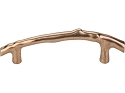 Top Knobs Aspen Twig 5 Inch CC Cabinet Pull - Light Bronze