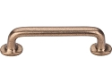Top Knobs Aspen Twig 4 Inch CC Cabinet Pull - Light Bronze.